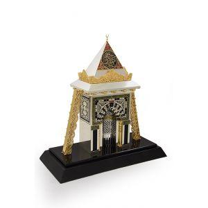 مجسم محراب  الرسول  الكريم  بالمسجد النبوى