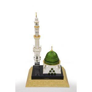 مجسم القبه  الخضراء للمسجد النبوى  48 سم